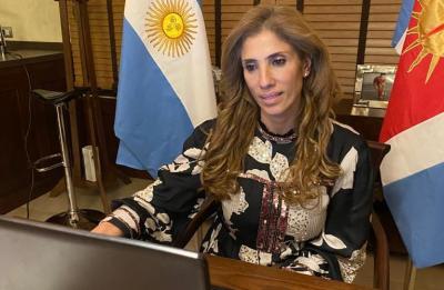 La senadora Claudia Zamora mantuvo un encuentro con el presidente Alberto Fernández y representantes parlamentarios