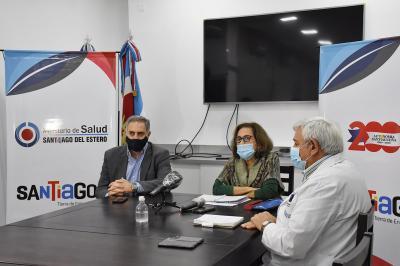 El Ministerio de Salud solicitó a vecinos de barrios de Capital y Banda un autoaislamiento preventivo