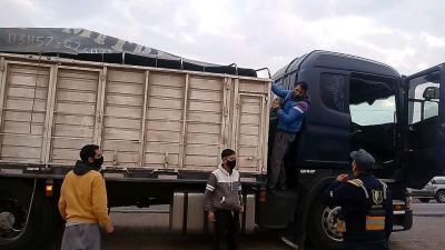 Tres personas fueron detenidas en el puesto limítrofe de ruta Nacional 34