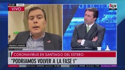VIDEO: Mira la entrevista completa al gobernador Gerardo Zamora en América24