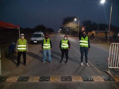 Beltrán: descartan el caso del camionero testeado en Jujuy