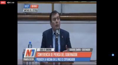 Zamora anuncia medidas hasta el domingo: el horario de circulación será de 8 a 15 horas
