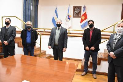 Firman convenio con  los municipios de Bandera, Campo Gallo y Sumampa