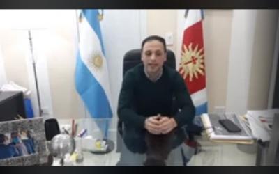 EN VIVO: Habla el intendente Araujo