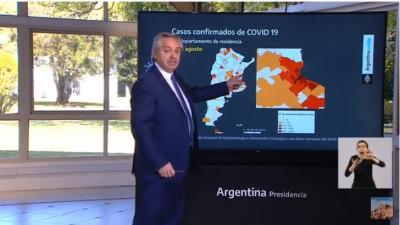 Alberto Fernández: «Nunca restringimos libertades solo cuidamos la salud de la gente»