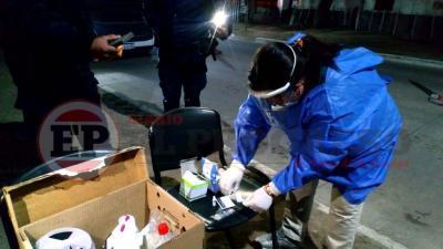 El Hospital de Fernández realiza testeos a transportistas y personal de salud