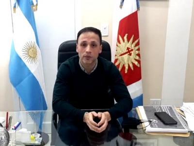 El intendente Araujo aclaró la situación epidemiológica en la Ciudad de Fernández
