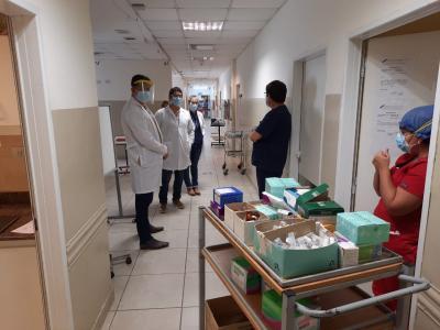 Subsecretario de Salud visitó las instalaciones del Hospital Regional