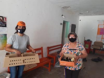 Realizan acciones para ayudar a la economía del hogar en La Cañada