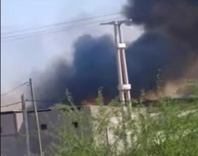 Un incendio en Higuera Chacra generó temor en los pobladores