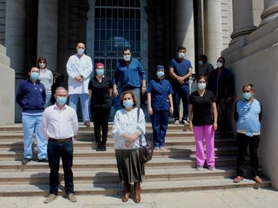 Brindan reconocimiento y agradecimiento a trabajadores y trabajadoras de la salud