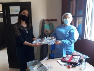 Entregan elementos e insumos sanitarios a la Posta Sanitaria de Villa Figueroa