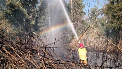 En Fernández Impulsan una fuerte campaña para prevenir incendios forestales