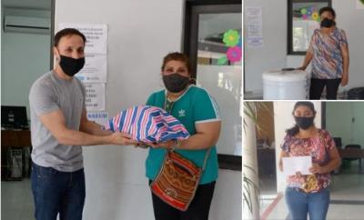 El intendente Araujo hizo entrega de los premios del día de la madre