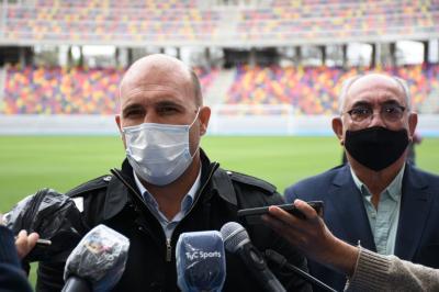 """Gonzalo Belloso: """"Es fabuloso encontrar un estadio de este nivel"""""""