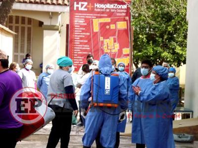 Este miércoles se reportaron 8 casos en Fernández, 6 en Forres, 3 en Beltrán y 1 en Colonia El Simbolar