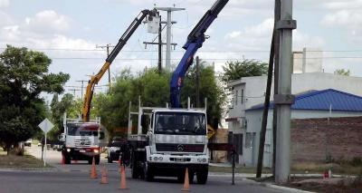 Habrá cortes de suministro eléctrico que afectaran a diversos barrios de la ciudad de Fernández