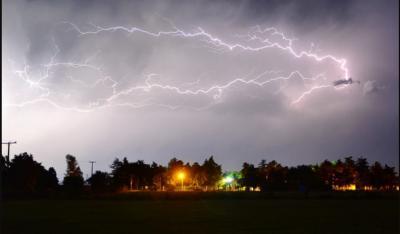 Rige el alerta por fuertes tormentas para la provincia