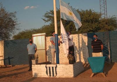 El club San Martín de Brea Pozo celebró 88 años de su fundación