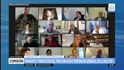La Dra. Claudia de Zamora participó del debate sobre las leyes orgánicas del Ministerio Público