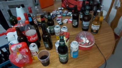 Una fiesta clandestina en el Barrio Los Pinos terminó con 21 jóvenes demorados