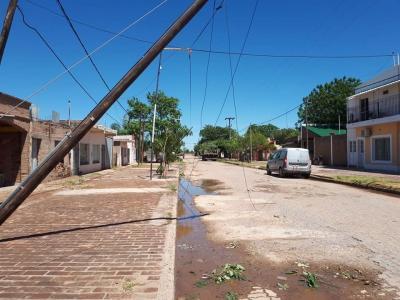 Campo Gallo vuelve de a poco a la normalidad tras la fuerte tormenta