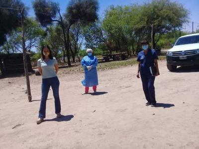Operativo mujer: brindan asistencia obstétrica en el departamento Figueroa