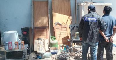 Beltrán: la policía logró apresar a un sujeto que permanecía prófugo y recuperó numerosos bienes