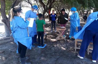 Vecinos del paraje «El Quemao» recibieron asistencia sanitaria