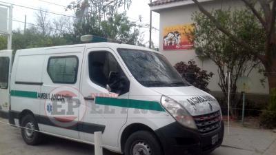 Fernández: motociclista colisionó contra un acoplado que estaba estacionado