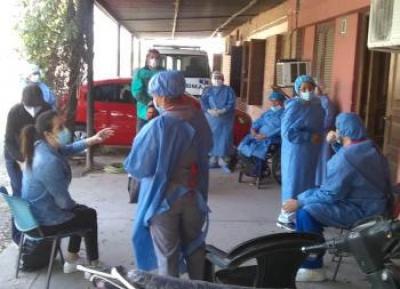 Beltrán superó los cien casos y confirmaron otra persona fallecida