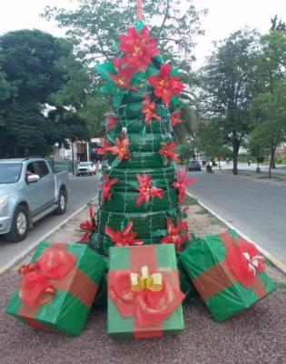 En Fernández, invitan a los vecinos a participar de la navidad ecológica