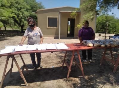 El Proyecto Viandas Solidarias llegó al paraje Pozo Suny