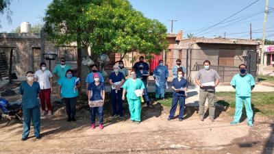 Ministerio de salud confirmó 6 casos en Fernández, 1  en Forres y 3 en Colonia El Simbolar