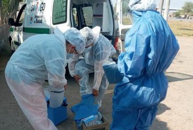 Coronavirus: Confirman 13 nuevos casos en Fernández y 1 en Forres