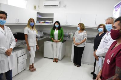 Inauguran laboratorio para la detección temprana del virus del papiloma humano en el Hospital Regional