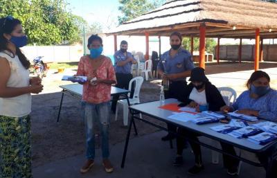 La Cañada inició la distribución de las tarjetas Alimentar