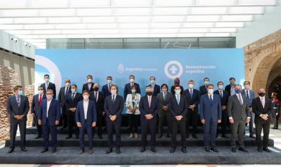 El Gobernador Zamora participó de la firma del Consenso Fiscal 2020 con el Presidente Alberto Fernández