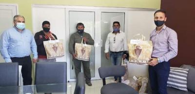 Empleados municipales de Fernández recibieron indumentaria de trabajo