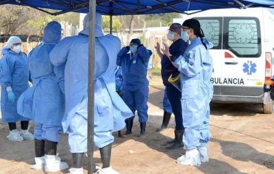 Este jueves confirmaron 3 casos en Brea Pozo, 1 en Fernández y 2 en Suncho Corral