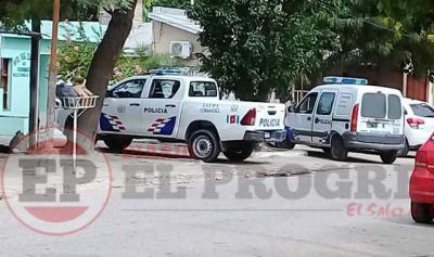 La policía logró aprehender a dos jóvenes que perpetraron un robo en Fernández
