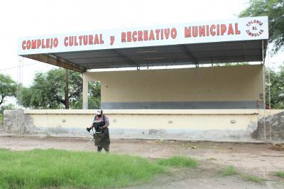 Colonia El Simbolar: preparan las instalaciones para comenzar las actividades recreativas y deportivas