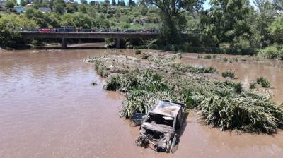 Desastre natural en Córdoba: En La Falda «Flotaban las heladeras»