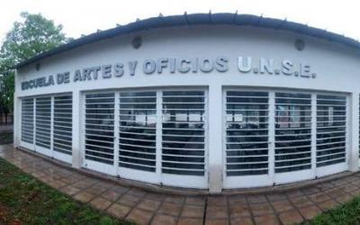 La escuela de artes y oficios de la UNSE comenzó a inscribir