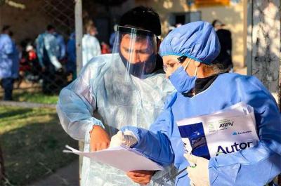 Confirmaron casos positivos en Fernández, Colonia El Simbolar, Vilmer, Suncho y Garza