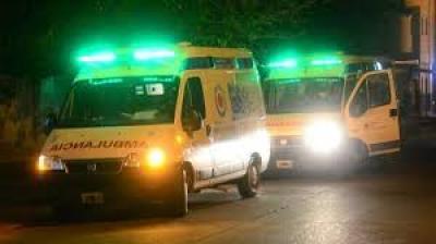 Forres: Accidente entre dos motos dejó tres personas heridas