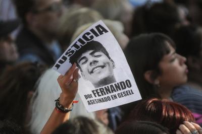Se cumplió un año del horrendo crimen de Fernando Báez Sosa