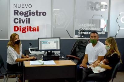 El gobierno de la provincia lanzó oficialmente el Registro Civil Digital