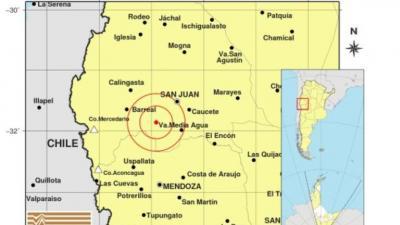Terremoto de magnitud 6.4 a 43 km de San Juan se sintió en Santiago del Estero
