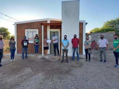 Con una nueva entrega, Sumampa superó las 260 viviendas sociales construidas